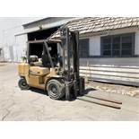 CAT 10,000 Lb. Cap. Propane Forklift, Model GP45K, 2-Stage Mast, Side Shift, Meter Read: 11,786