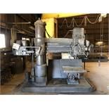 "Carlton 15"" x 6' Radial Arm Drill, 15"" Column, 6' Arm, 1500 Max RPM, Tilting Table [Located at"