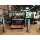 Peddinghaus FPB 1500 CNC Plate Punch & Plasma Cutting Machine, Triple Tool Punch Press, Hypertherm