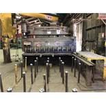 """5/8"""" x 10' Cincinnati Hydraulic Power Shear, Model 5FL10, Front Operated Power Back Gauge, S/N 39667"""