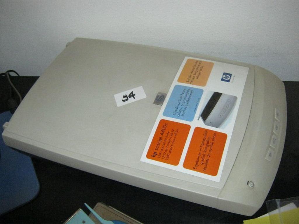 N. 34 (775 FALLIMENTO) SCANNER HP SCANJET 4400C (BENI IN ASTA E VISIBILI IN MONTAGNANA VIA