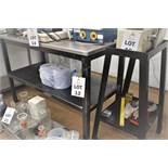 S/STEEL TOP PREPARATION TABLE 1360 X 620 X 930