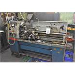 COLCESTER STUDENT 1800 LATHE NO 4/0010/09512 DD WITH MITUTOYO X Y CONTROL QUICK CHANGE TOOL POST &