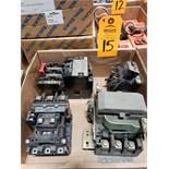 Assorted contactors / starters.