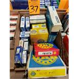 Qty 16 - Assorted bearings. New as pictured.