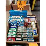 Qty 34 - Assorted bearings. New as pictured.