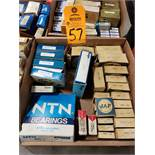 Qty 28 - Assorted bearings. New in box.
