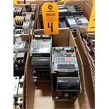 Qty 2 - Siemens drives. Cases broken/missing.