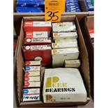 Qty 18 - Assorted bearings. New as pictured.