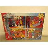 Sabans Power Rangers Ninja Steel Jigsaws. 4 x 100 Piece in each pack. New & In Sealed Boxes