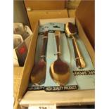 Box of 12 packs 6 table spoons. Brand new with tags