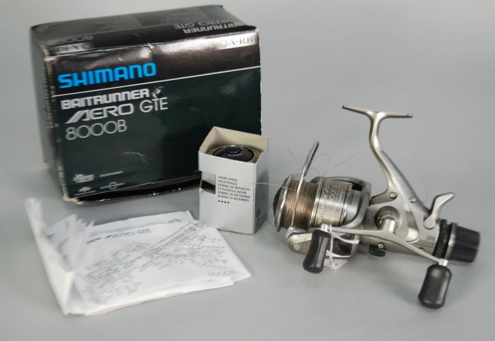 Shimano Baitrunner Aero GTE 6000B Spool In Excellent Condition