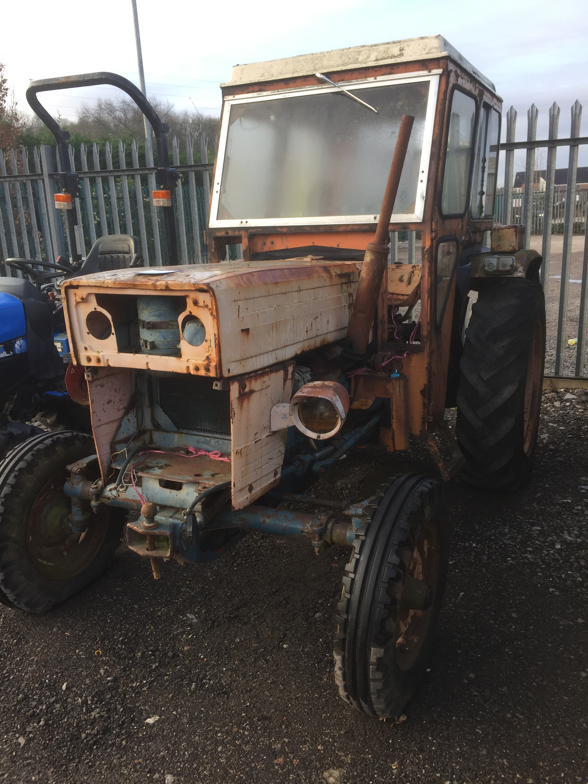 Lot 2 - Brasov Universal U445 2WD tractor, Registration No. N367 NAD