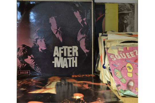 Vinyl Records - Rolling Stones Aftermath, Decca Red Label