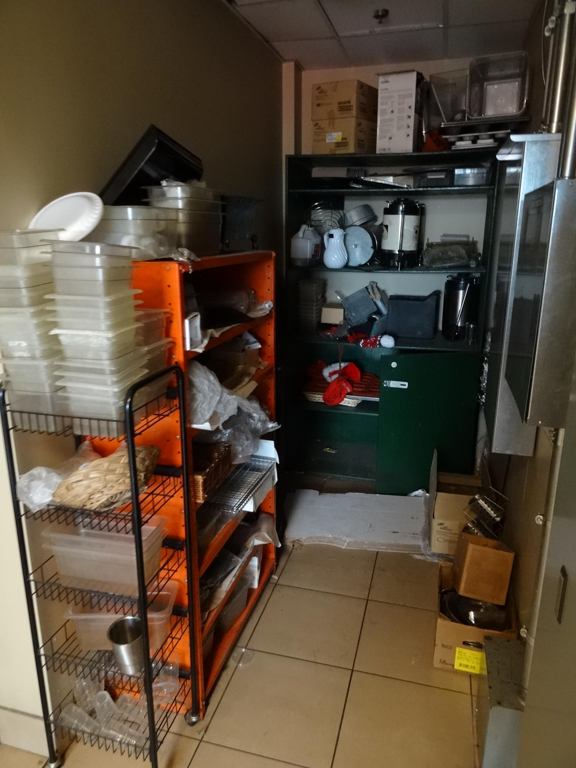 LOT, CONTENTS OF STORAGE ROOM