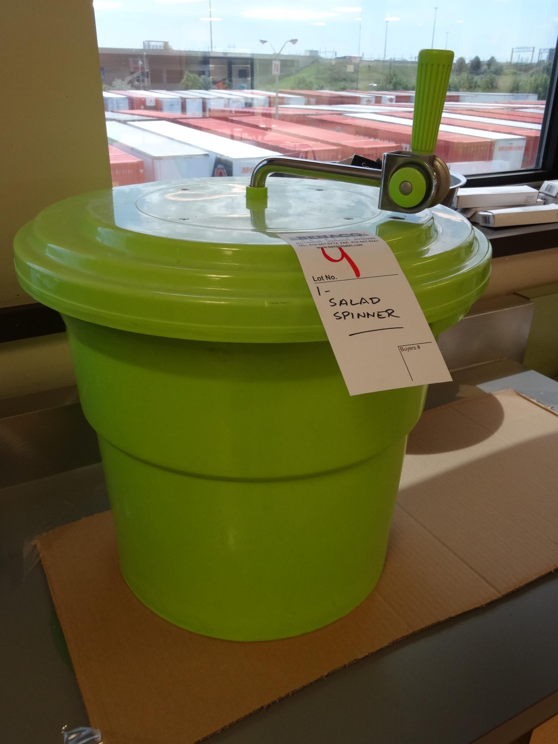 Lot 4 - 1X, GREEN SALAD SPINNER