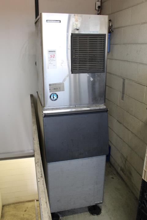 1X, HOSHIZAKI KM-320MAH 310LB ICE MACHINE W/BIN
