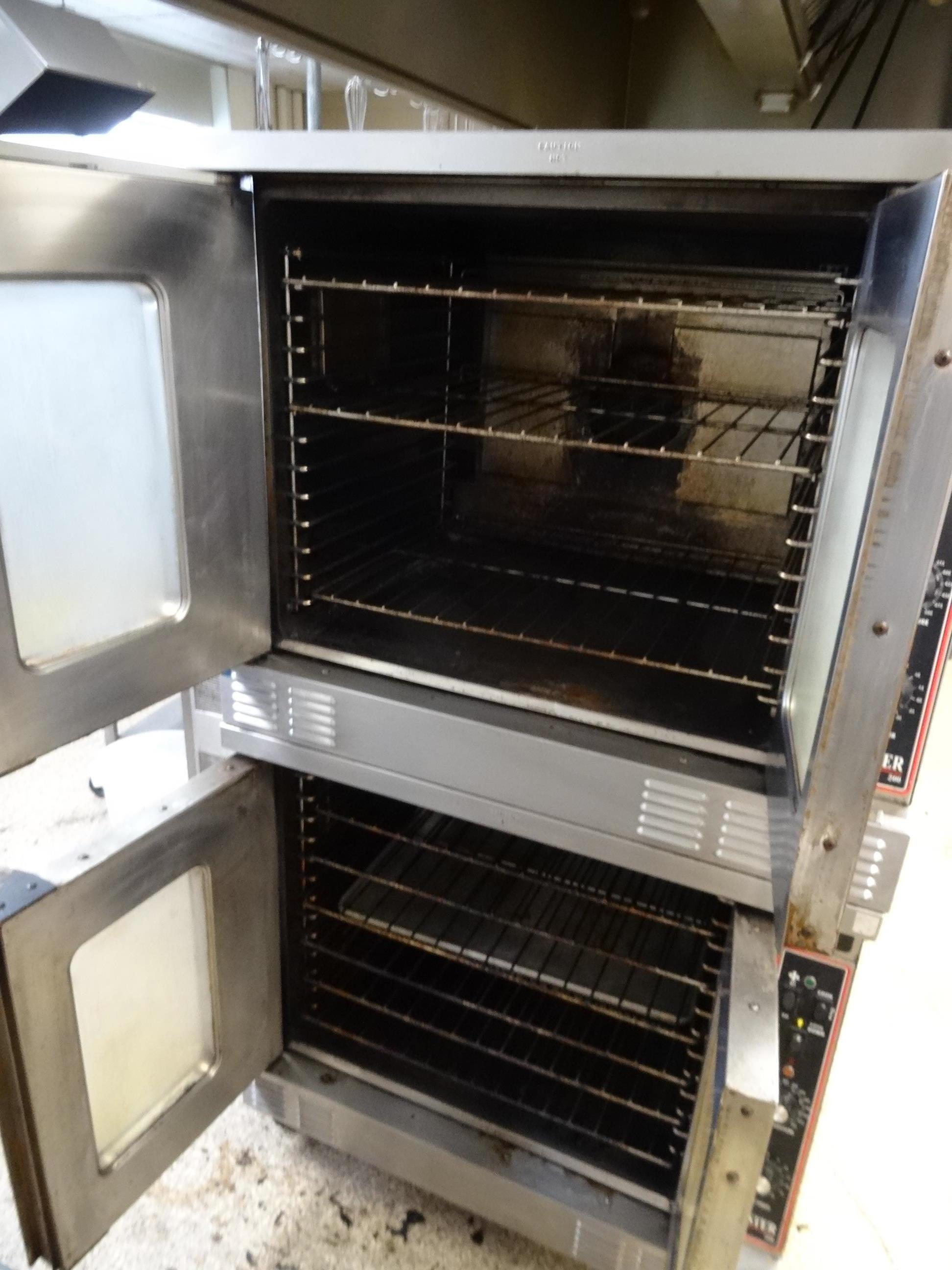"Lot 53 - 1X, GARLAND ""MASTER 200"" DBL DECK, 2 DOOR GAS CONVECTION OVEN"