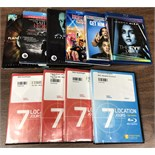 MIXED LOT DVD'S
