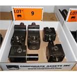 LOT/ (2) SANDVIK 343-830111C895 90 DEGREE STATIC TOOL HOLDERS & (3) SANDVIK 343-830111C788 STATIC