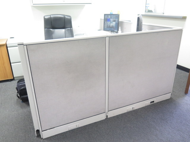 Lot 475 - Office Cubicles, Furniture, File Cabinets