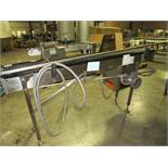 Shuttleworth Conveyor, Stainless Steel with Driven roller 1heels -- ( RIGGING INCLUDED WITH SALE