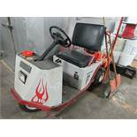 E-Z-GO three wheeler battery operated factory plant scooter.. Needs battery - -- (RIGGING INCLUDED
