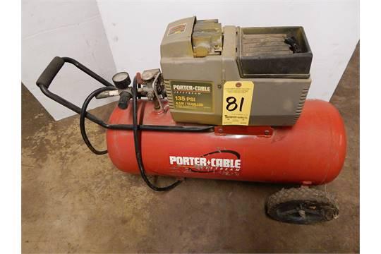 Porter Cable 45 Hp Portable Air Compressor 15 Gallon Tank 110v