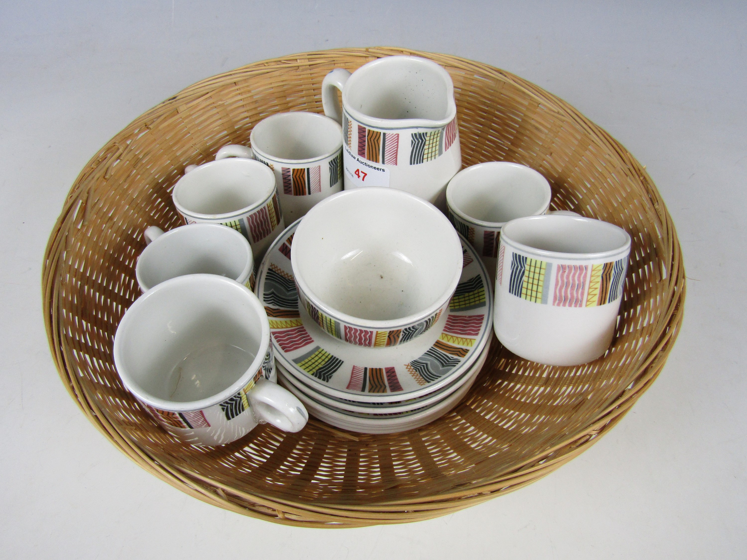 Lot 47 - A selection of Carlisle State Management scheme ceramics