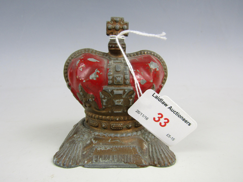 Lot 33 - A Queen Elizabeth II Coronation die-cast money box