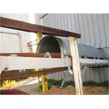 "20"" x 24"" Covered Rubber Belt Through Conveyor"