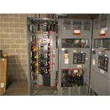LOT (2) Square D Enclosure Cabinets w/Masterpact NW30H Circuit Breaker Interruptor, (4) MJ700