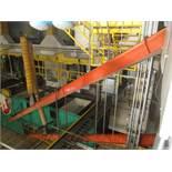 "Superflo 10"" x Approx. 60' Chain Drag Incline Conveyor"
