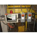 Firefly AB In Process Fire Suppression System w/Spark Detectors, Auto Deluge
