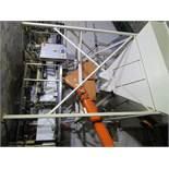 Hamer 2080 Feed Thru Form, Fill & Seal Bagger, s/n 062080221