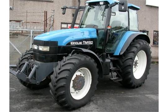 2000 New Holland TM150 Tractor with Full Suspension  V5 will be