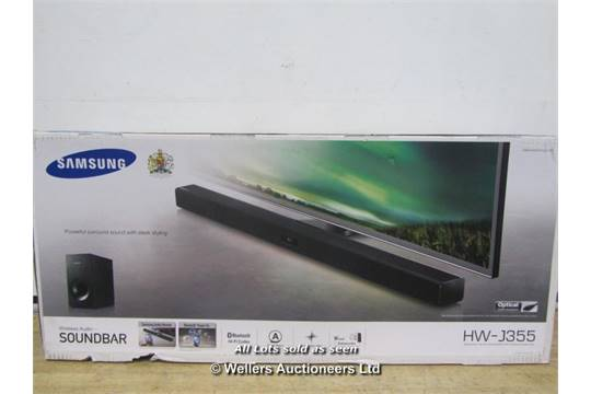 samsung hw j355. samsung hw-j355 2.1 sound bar / boxed grade: returns (dc3) [mk100815] {14a} 48256083 samsung hw j355
