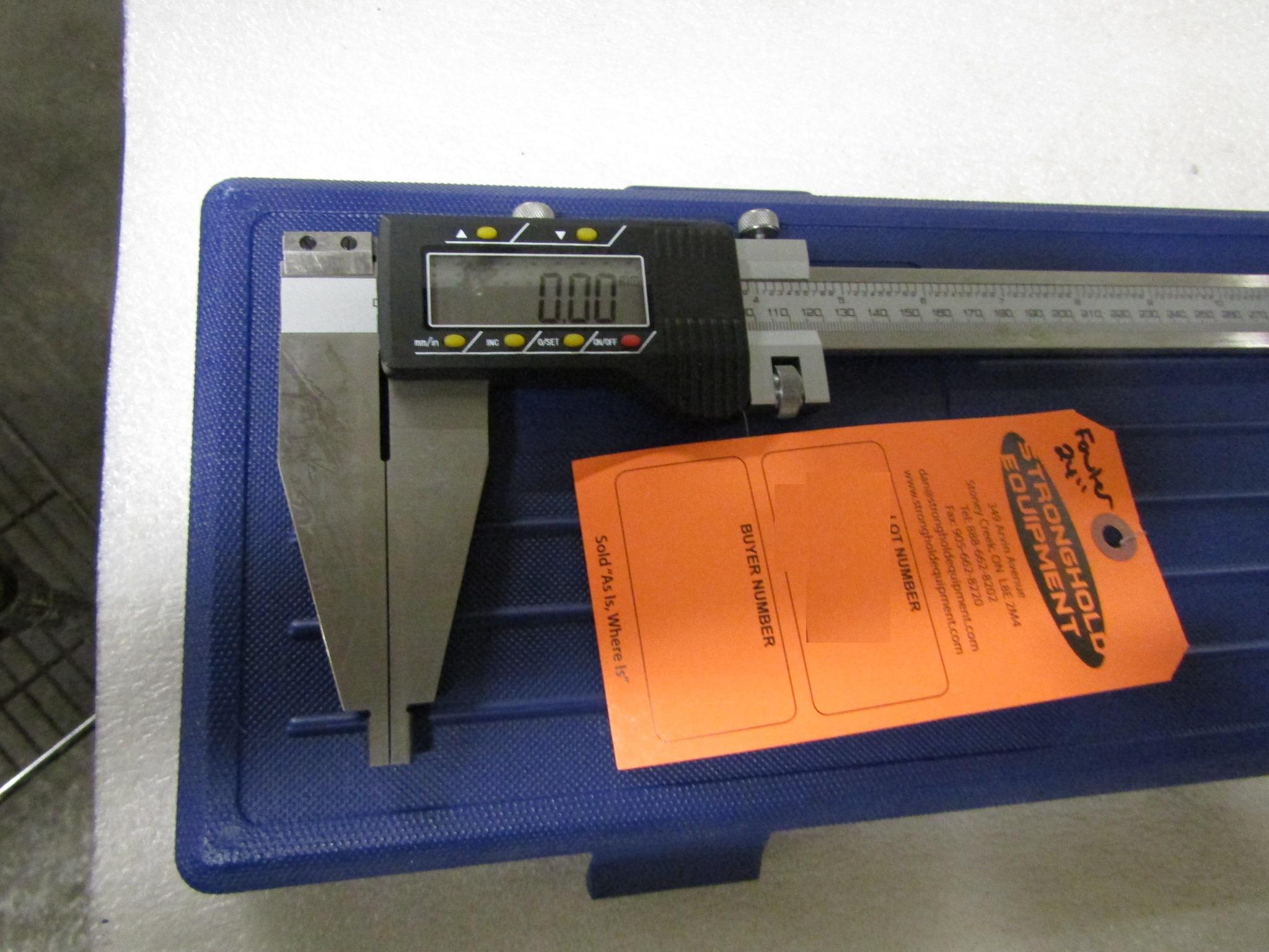 "Lot 48 - BRAND NEW Fowler 24"" / 600mm Digital Caliper - large digital readout display in case - MINT"