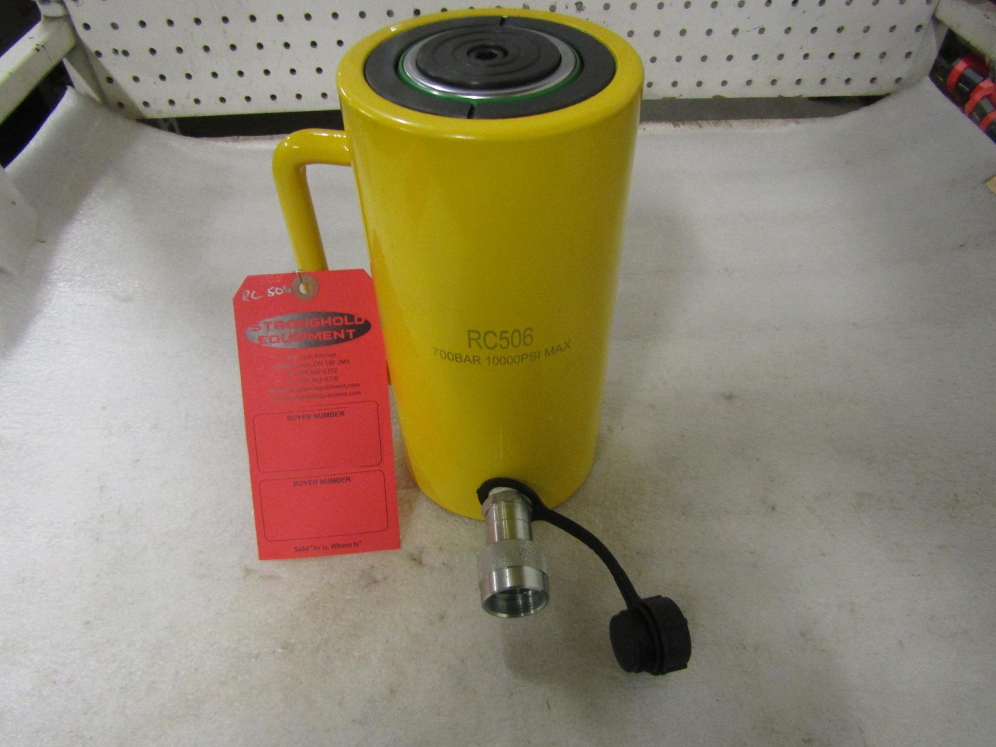 "Lot 42A - Brand New RC-506 style 50 Ton 6"" Stroke / travel Hydraulic Jack"