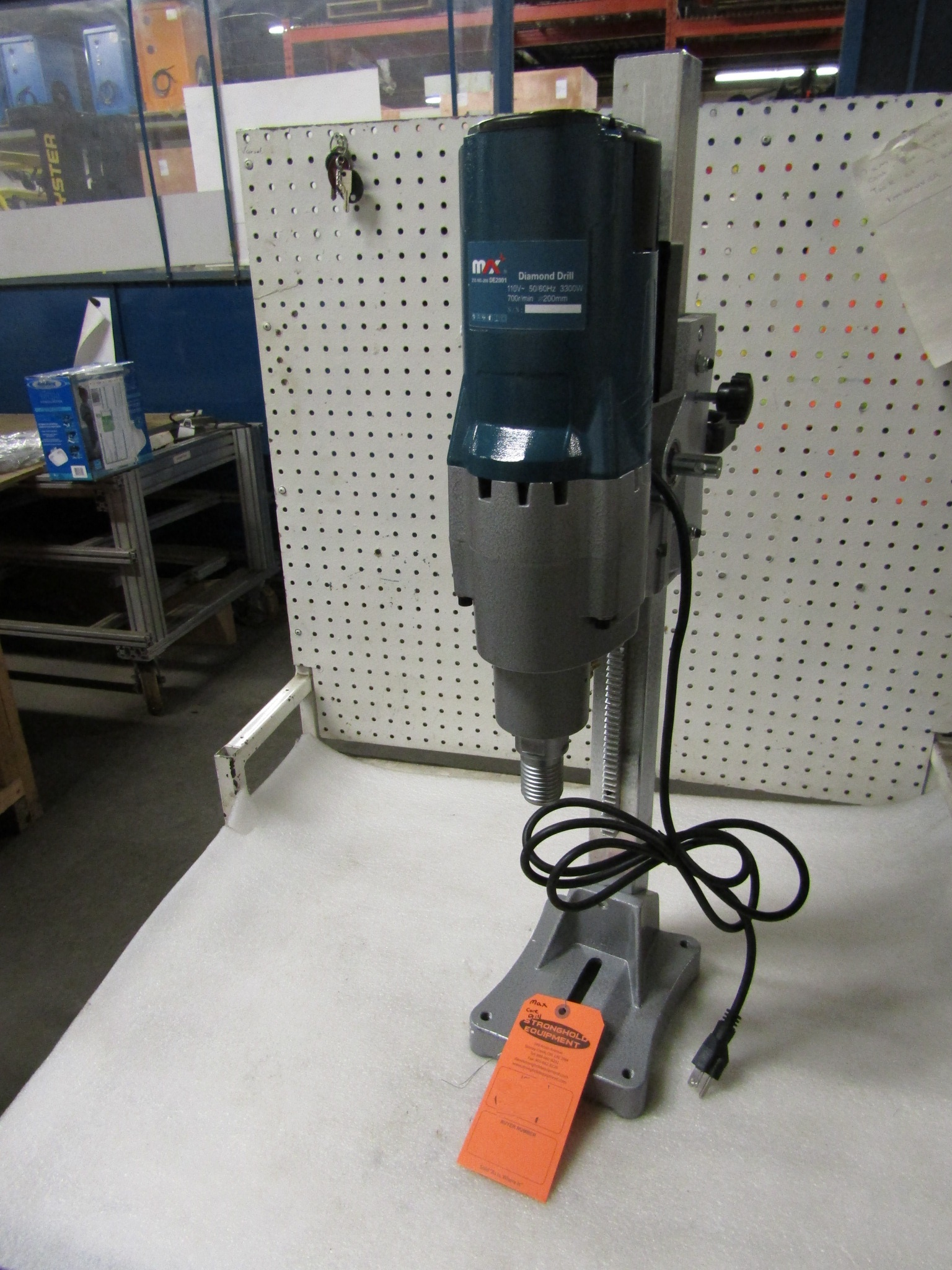 Lot 20 - BRAND NEW Max Diamond Core Drill Unit