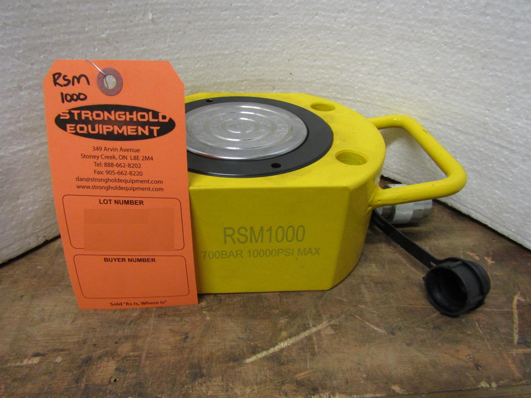 Lot 44 - RSM-1000 100 Ton Hydraulic Jack - pancake jack style