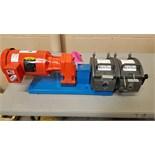 Waston-Marlow dual line peristaltic pump, 1 hp, 208-230/460 volt.