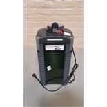 Eheim external filter, model 202838, 120 volt.