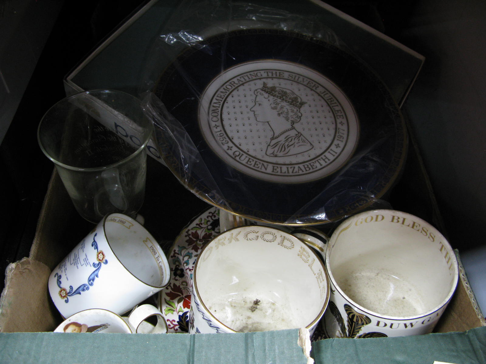Lot 1052 - A Wedgwood Mug Commemorating the Investiture of The Prince of Wales, designed by Richard Guyatt, a
