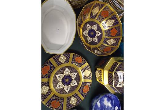 A Collection of Caverswall Romany Patterned China to include