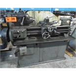 "HARRISON TOOLROOM LATHE WITH 11"" SWING, 30"" BETWEEN CENTERS, INCH THREADING S/N N/A (CI) MACHINE"