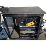 LINCOLN IDEALARC 250 ARC WELDER WITH CABLES & GUN S/N C1000600205