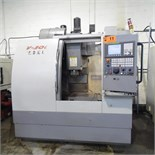 LEADWELL (2009) V-30I CNC VERTICAL MACHINING CENTER WITH FANUC OI-MC CNC CONTROL, TRAVELS X- 29.