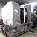 "DOOSAN DOOTURN 2SP-V3 VERTICAL MACHINING CENTER WITH FANUC OTTC CNC CONTROL, TWIN 12"" DIA CHUCKS,"