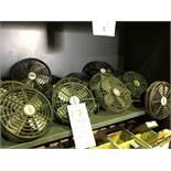 Cabin fans, 24 volts, Signal & Temro, 14 pcs (Lot)